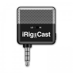 IK Multimedia iRig Mic Cast Mikrofon iOS/Android