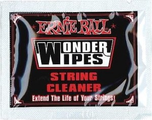 Ernie Ball 4249 Wonder Wipes String Cleaner