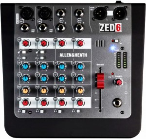ALLEN & HEATH ZED6 mikser audio
