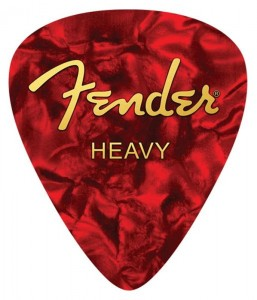 Fender Mouse Pad - Fender Heavy Pick