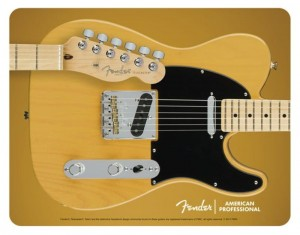 Fender Mouse Pad - Fender Telecaster Body