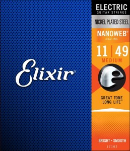 Elixir 12102 NW Light struny do git. elektr. 11-49