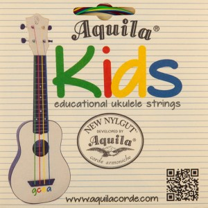 Aquila U KIDS 138U struny do ukulele multikolor