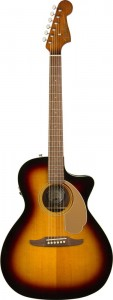 Fender Newporter Player Sunburst git. elektroakust