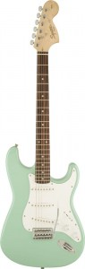 Squier Affinity Stratocaster SSS LRL SFG