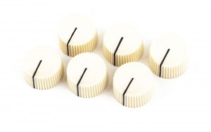 Fender 0990933000 White Vintage Amp Knobs