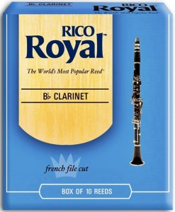 Rico Royal 2.5 stroik do klarnetu Bb