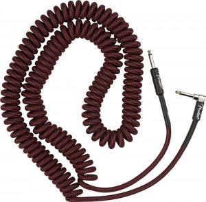 Fender Pro Coil Cable 30' Red TWD kabel gitarowy