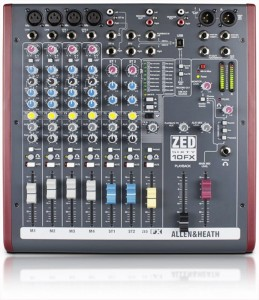 ALLEN & HEATH ZED 60-10FX mikser audio
