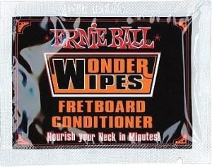 Ernie Ball 4247 Wonder Wipes Fretboard Conditioner