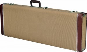 Fender PRO Series futerał do gitary basowej tweed