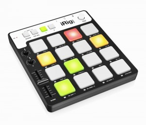 IK Multimedia iRig Pads kontroler