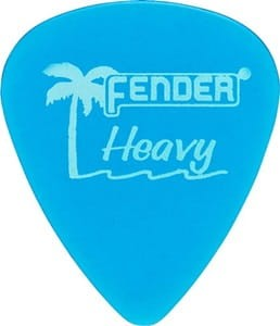 Fender California Clear Heavy kostka gitarowa