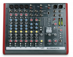 ALLEN & HEATH ZED10FX mikser audio